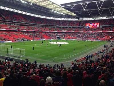 Wembley Stadium secção 129