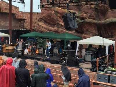 Red Rocks Amphitheatre secção 1