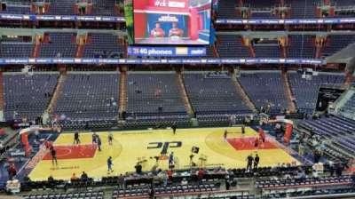 Capital One Arena secção 200