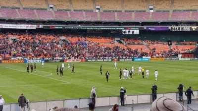 RFK Stadium secção 212