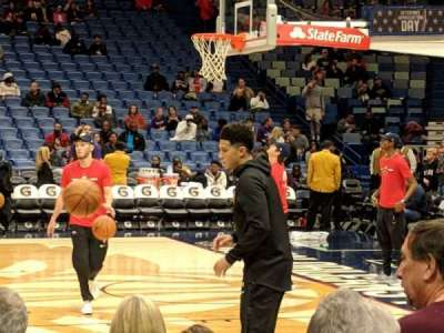 Smoothie King Center secção 124