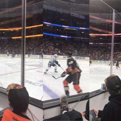 Honda Center, secção: 221, fila: B