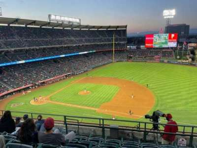 Angel Stadium secção 426