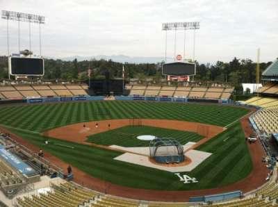Dodger Stadium secção Vin Scully Press Box