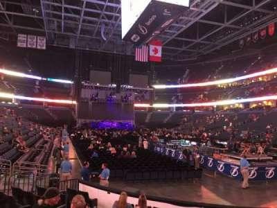 Amalie Arena, secção: 110, fila: J, lugar: 11