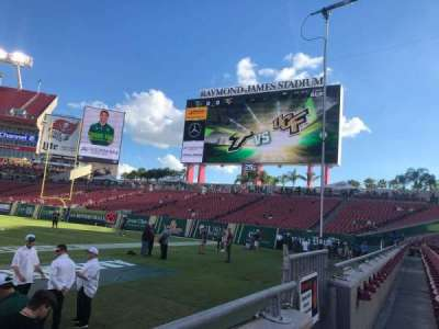 Raymond James Stadium secção 112
