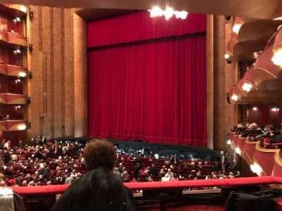 Metropolitan Opera House - Lincoln Center secção Parterre Box