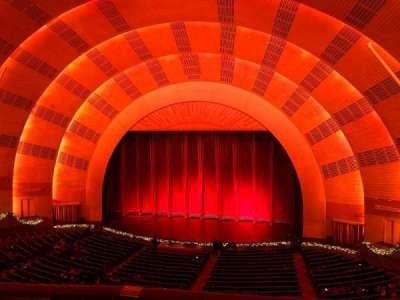Radio City Music Hall secção 2nd Mezzanine 3