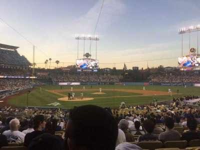 Dodger Stadium secção 6FD
