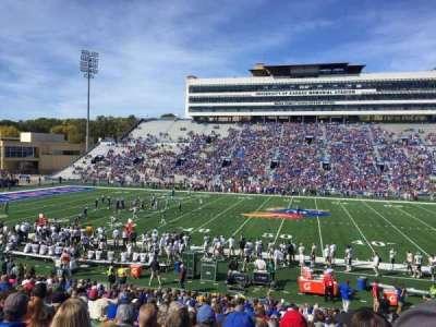 David Booth Kansas Memorial Stadium secção 21