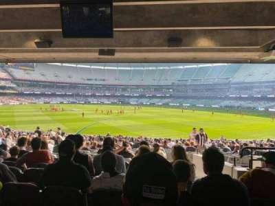 Melbourne Cricket Ground, secção: M9, fila: JJ, lugar: 5