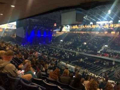 Webster Bank Arena secção 117