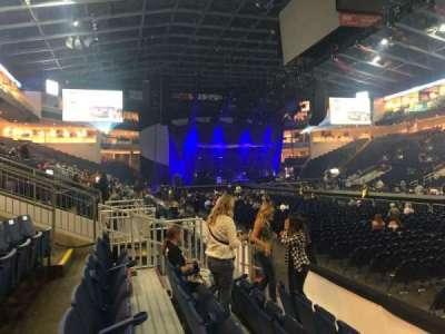 Webster Bank Arena, secção: 117, fila: A, lugar: 1
