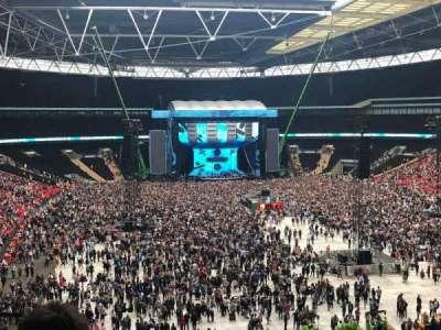 Wembley Stadium secção 216
