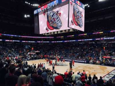 Smoothie King Center secção 123