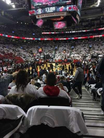 Scotiabank Arena secção 102