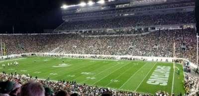 Spartan Stadium, secção: 5, fila: 54, lugar: 46