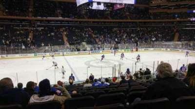 Madison Square Garden secção 116