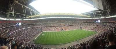 Wembley Stadium, secção: 529, fila: 12, lugar: 70