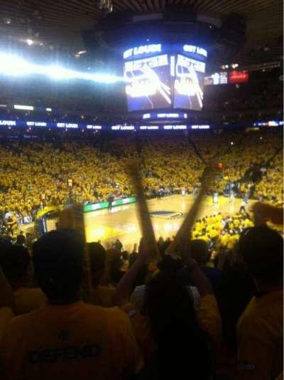 Oakland Arena secção 119