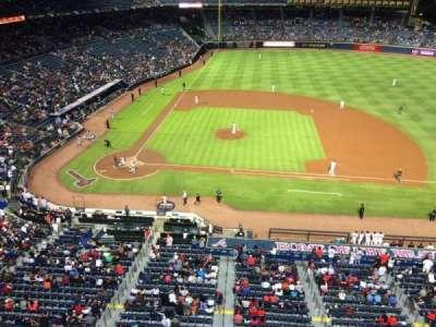 Turner Field, secção: 409R, fila: 1, lugar: 13