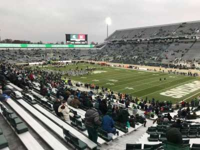 Spartan Stadium, secção: 19, fila: 49, lugar: 62