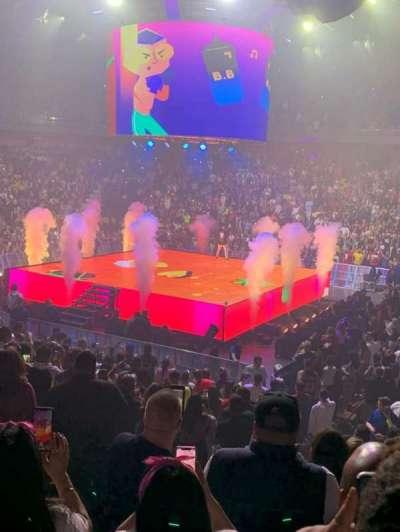 Mohegan Sun Arena secção 14
