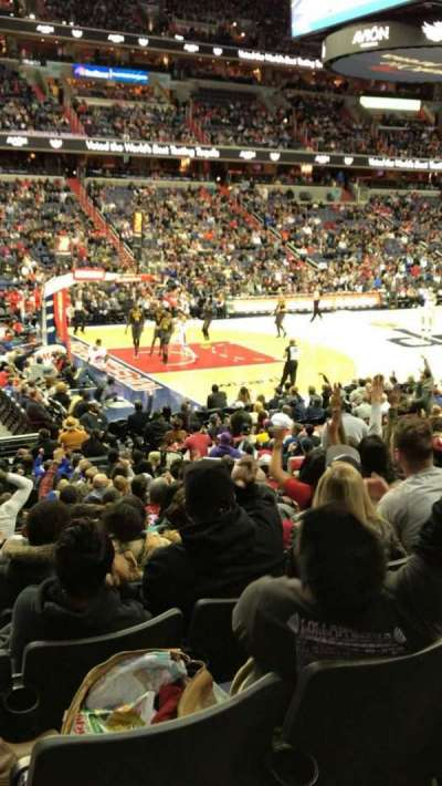 Capital One Arena secção 109