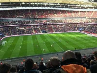 Wembley Stadium, secção: 528, fila: 8, lugar: 55