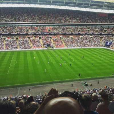 Wembley Stadium, secção: 528, fila: 8, lugar: 56