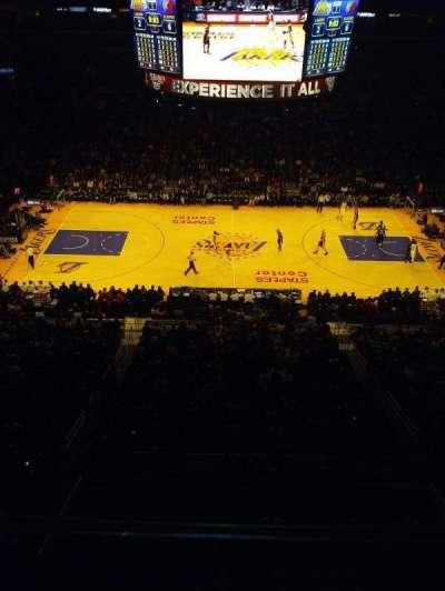Staples Center secção Suite C12