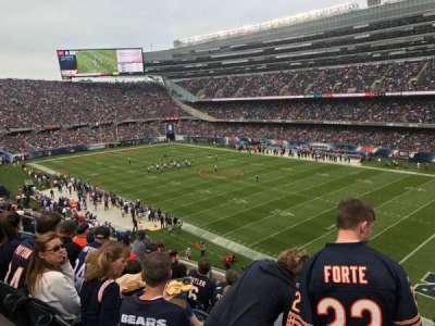 Soldier Field, secção: 331, fila: 7, lugar: 13