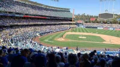 Dodger Stadium secção 124LG