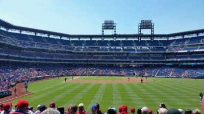 Citizens Bank Park secção 105