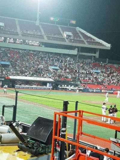 KT Wiz Park, secção: 108, fila: 5, lugar: 56