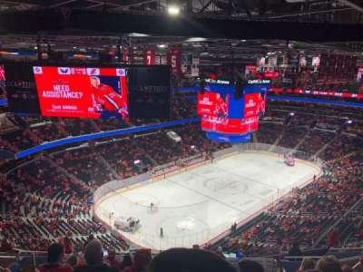 Capital One Arena, secção: 412, fila: P, lugar: 12