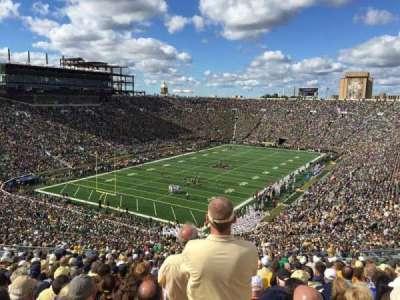 Notre Dame Stadium secção 116