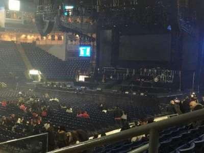 Webster Bank Arena, secção: 104, fila: G, lugar: 1