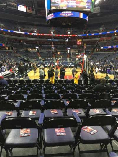 Capital One Arena secção 116