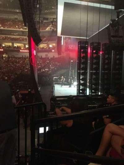 Pinnacle Bank Arena, secção: 104, fila: 13, lugar: 1