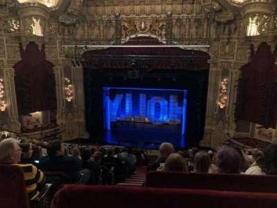 Oriental Theatre, secção: Balcrc, fila: M, lugar: 320