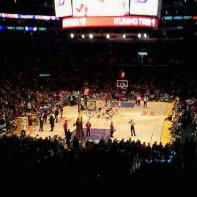 Staples Center secção 216