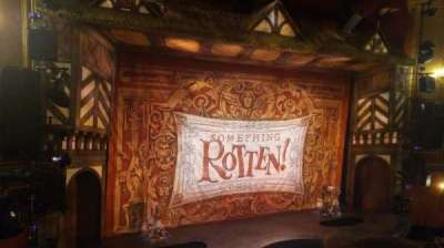 St. James Theatre secção Front Mezzanine