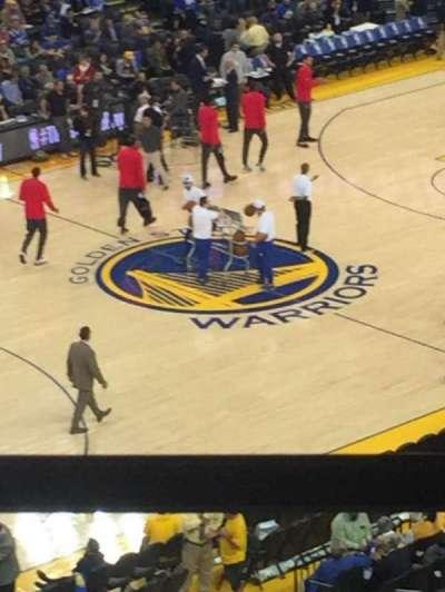 Oakland Arena secção 220