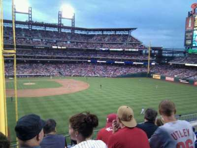 Citizens Bank Park secção 204