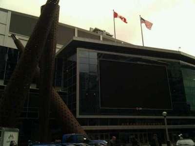 Scotiabank Arena secção Outside