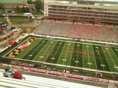 Maryland Stadium, secção: 306, fila: v, lugar: 17