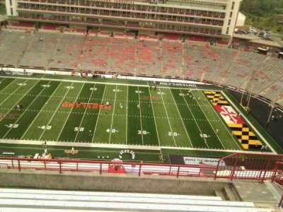 Maryland Stadium, secção: 307, fila: p, lugar: 17