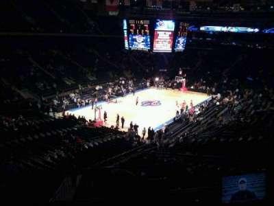 Madison Square Garden, secção: 207, fila: 1, lugar: 3