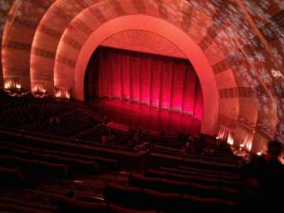 Radio City Music Hall secção 3rd mezzanine 1
